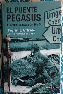 Portada del libro El puente Pegasus, de Stephen E. Ambrose