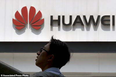 Huawei executive accused of helping steal trade secrets