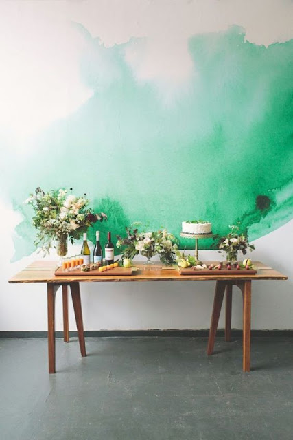deco green pintura acuarela diy watercolor comprar
