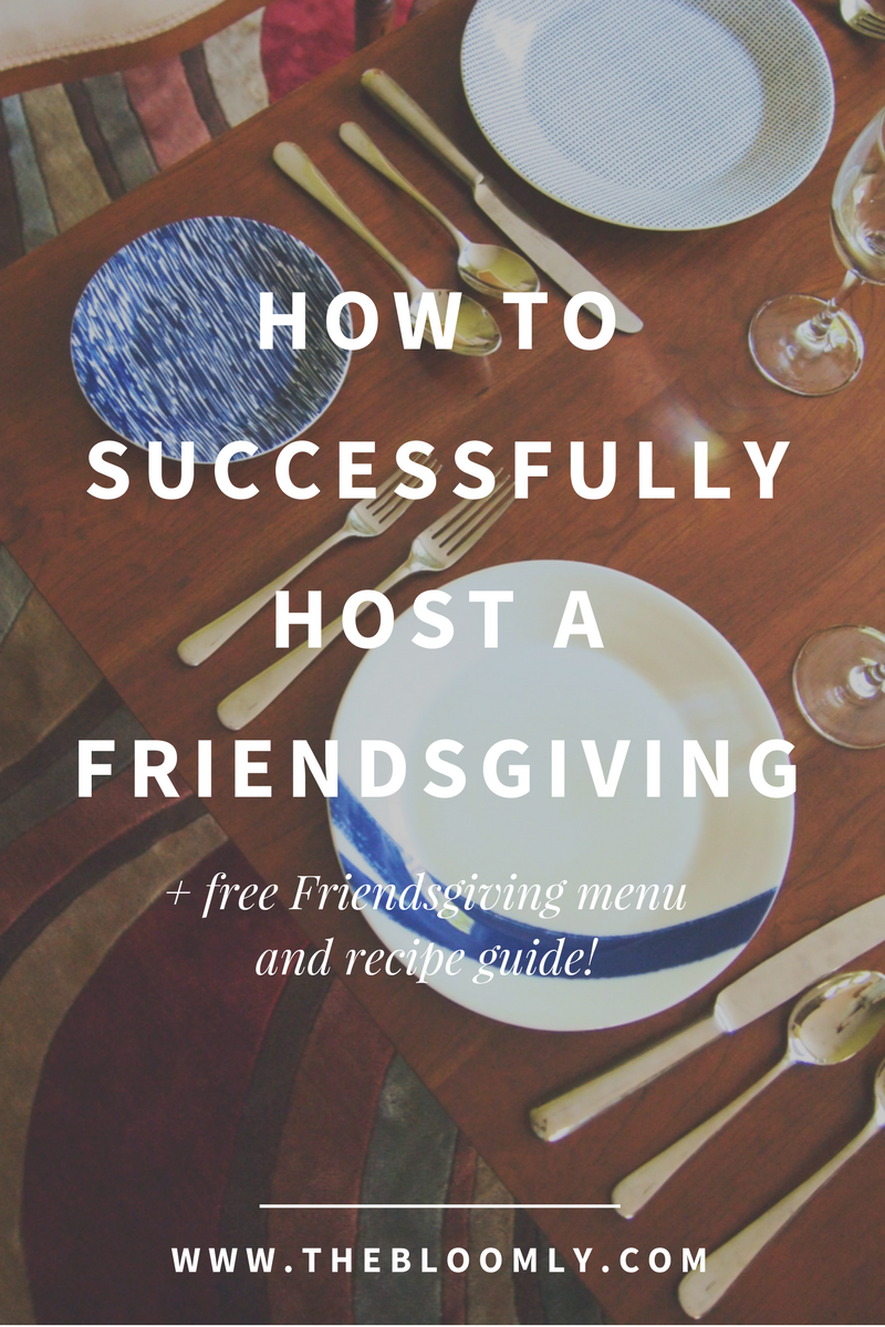 How to Successfully Host a Friendsgiving