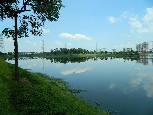 Công viên xanh Yên Sở lớn nhất Hà Nội