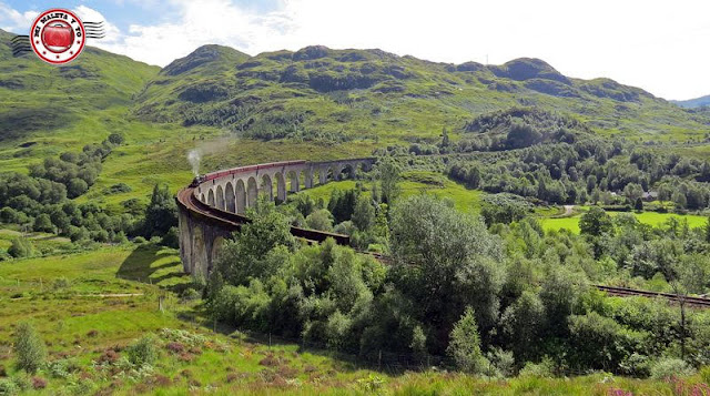 Escocia, Glenfinnan, tren Jacobite