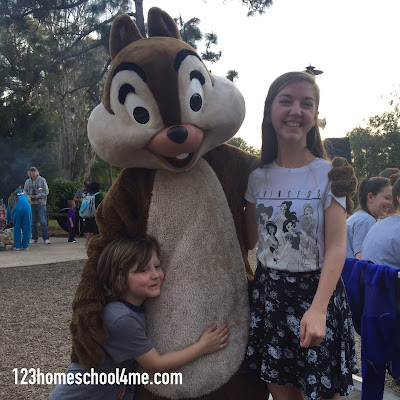 disney-world-chip-and-dale-character-campfire-free-resort-activity