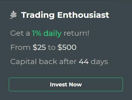 Инвестиционные планы Coinblock