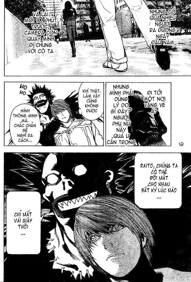 Death Note chapter 013 trang 12
