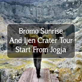 Bromo Ijen Tour