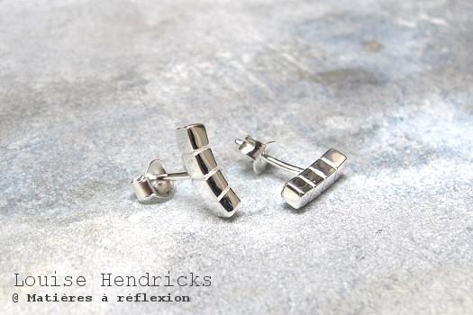 Louise Hendricks boucles argentées