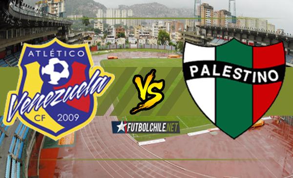 Atlético Venezuela vs Palestino