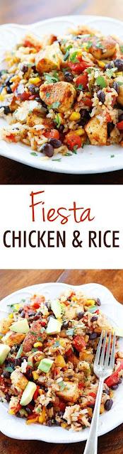 Fiesta Chicken And Rice