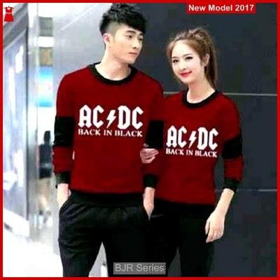 BJR026 Keren B Baju Couple Acdc Murah Grosir BMG