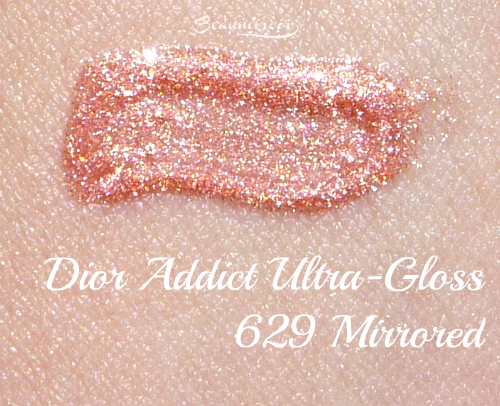 Swatch of New Dior-Addict Ultra-Gloss in 629 Mirrored