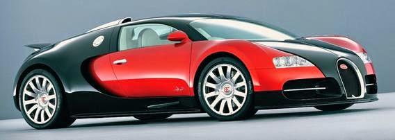Buggati Veyron EB 16.4 mobil tercepat di dunia 2016 nomor 3