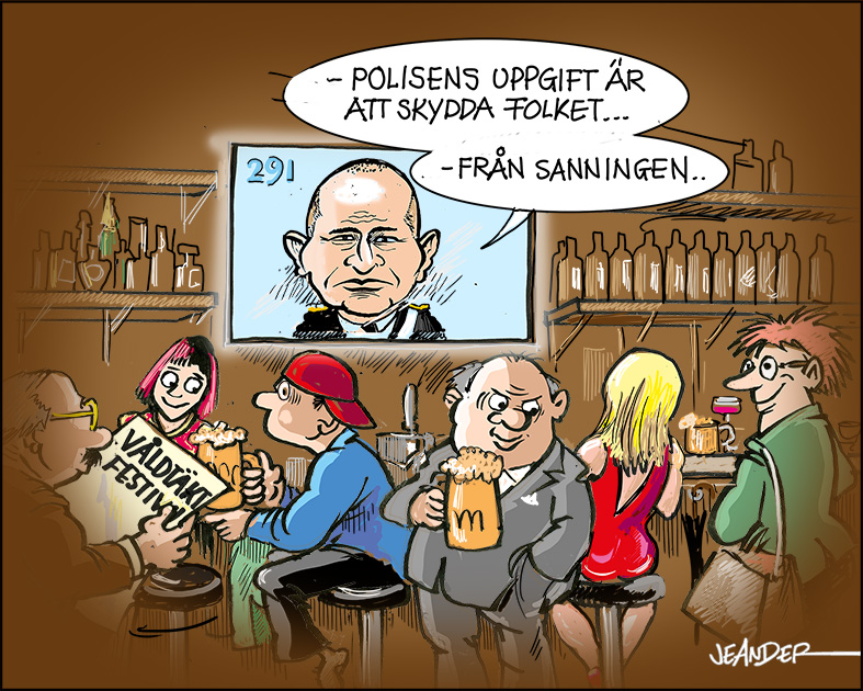 JEANDERS BILDBLOGG: Rikspolischefen...