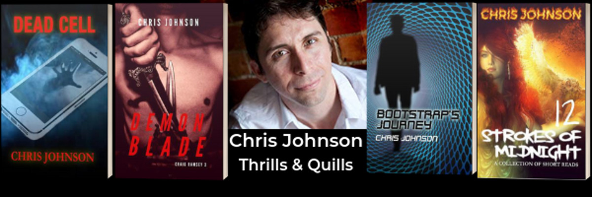Chris Johnson - Author