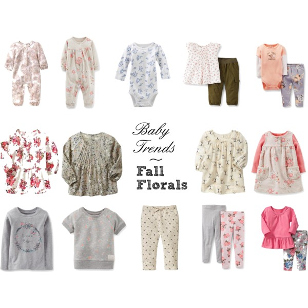 Baby Trends: Fall Florals