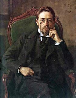 Πορτραίτο του Τσέχωφ του 1898 του Osip Braz
