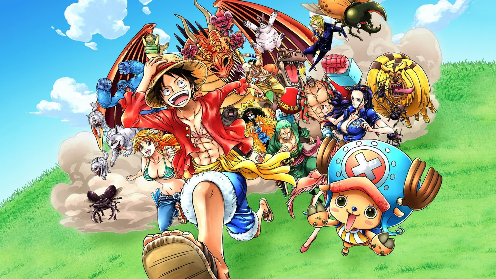 One Piece HD Wallpaper Pack