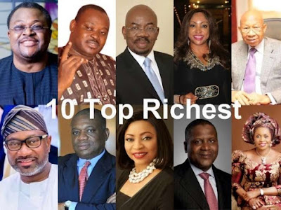 Top Ten Richest Nigerians