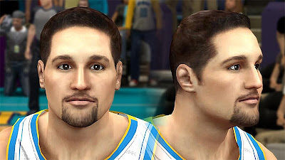 NBA 2K13 Ryan Anderson Cyberface Patch