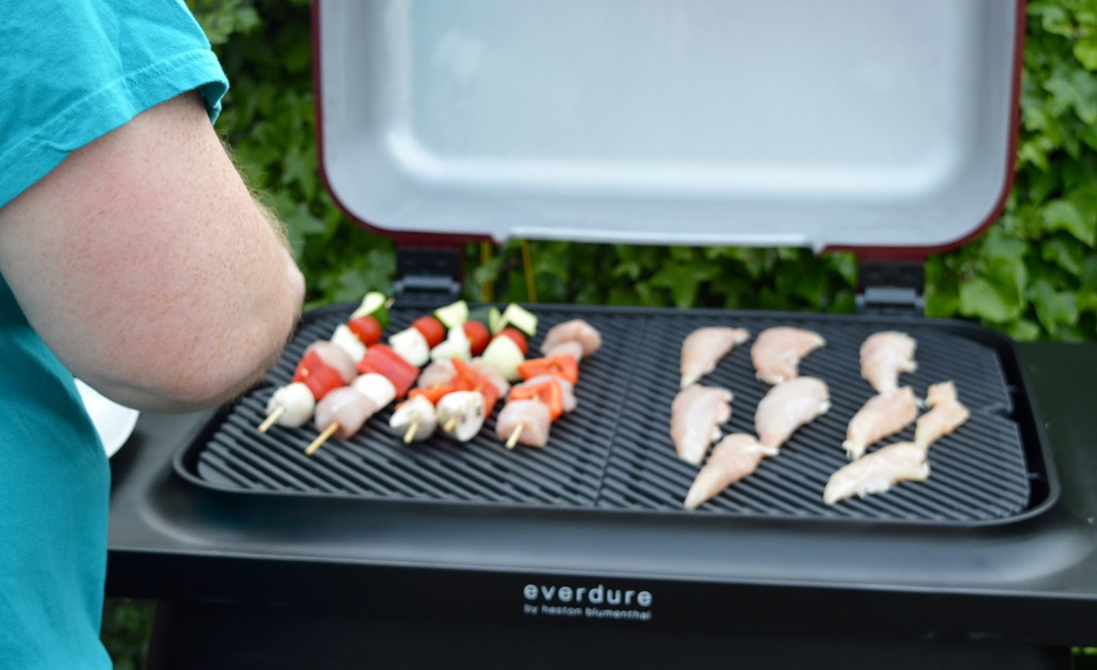 Win an Everdure by Heston FORCE Barbeque worth £599 from Kettler with  #TheBestofTimes  - cooking chicken