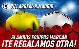 sportium Promo Villarreal vs Real Madrid 3 enero