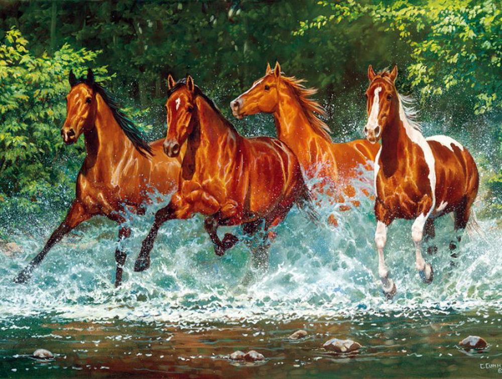 Cuadros pinturas oleos horses caballos finos pintados - Los cuadros mas bonitos ...