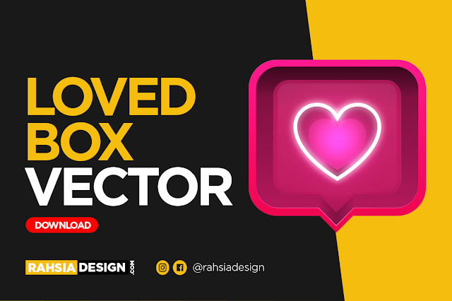 Loved Box Vector Free Download
