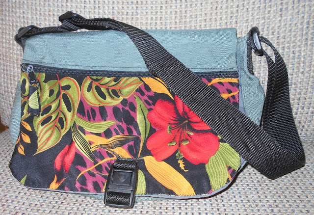 spice up a messenger bag