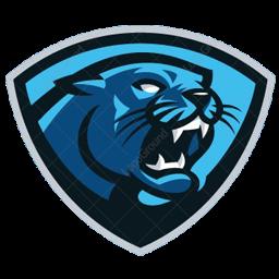 logo panther biru