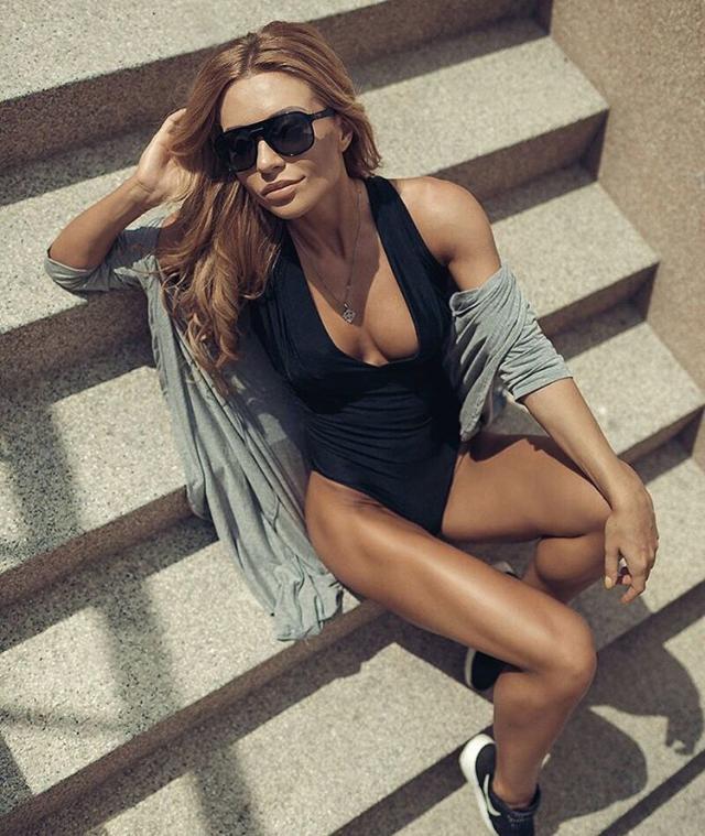 The most popular Russian fitness models kate Usmanova