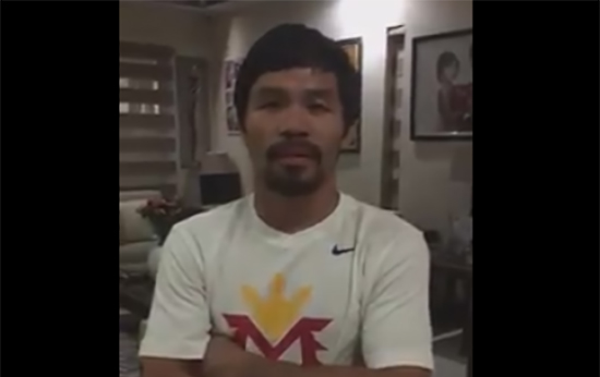 LGBT member 'reaction letter' to Manny Pacquiao