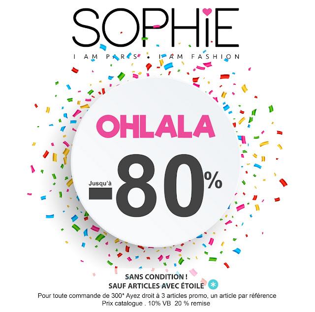 promotions sophie paris maroc janvier 2019