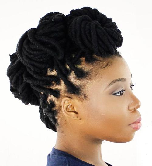 dreadlock hairstyles women