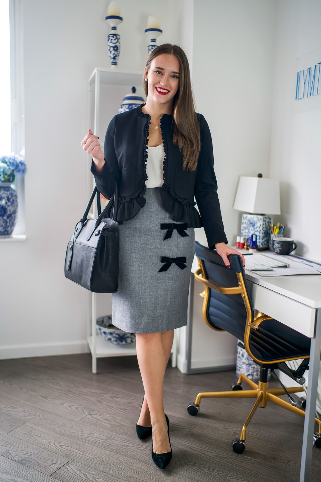 3dd9e877fe Dress to Impress for the Office | New York City Fashion and Lifestyle Blog  | Covering the Bases