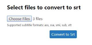 Cara Mudah Mengubah File Subtitle Menjadi .srt