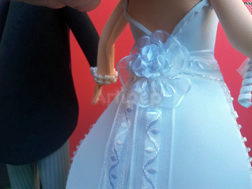 fofucha vestido novia