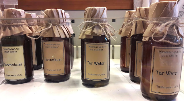 Tar water from Oulu Finland