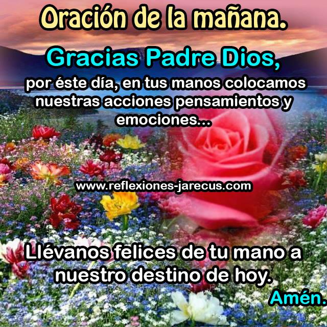 Oración de buenos días, Oración de la mañana,