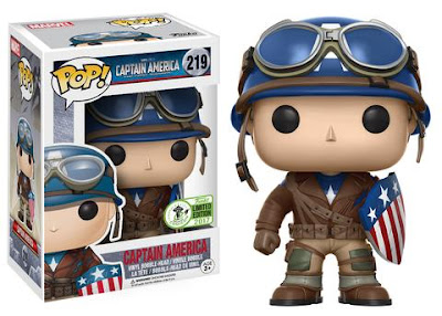 Emerald City Comicon 2017 Exclusive WWII Captain America Pop! Marvel's Captain America The First Avenger Vinyl Figure by Funko