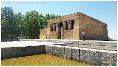 Madrid; Viagem Europa; Turismo na Espanha; Parque del Oeste; Colina da Montanha; Templo de Debod; Templo Egípcio em Madri