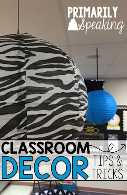 Classroom Decor Tips