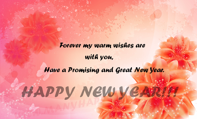 a happy new year greeting message