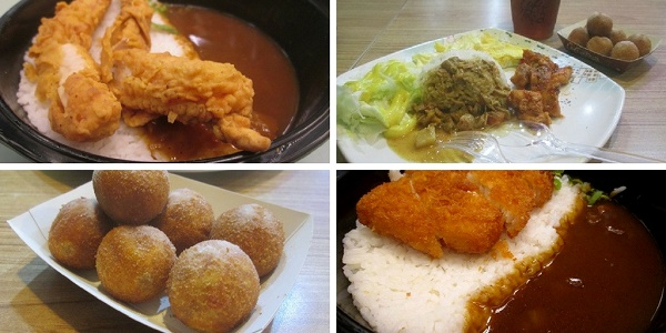 Curry Lotteria dan Curry A&W