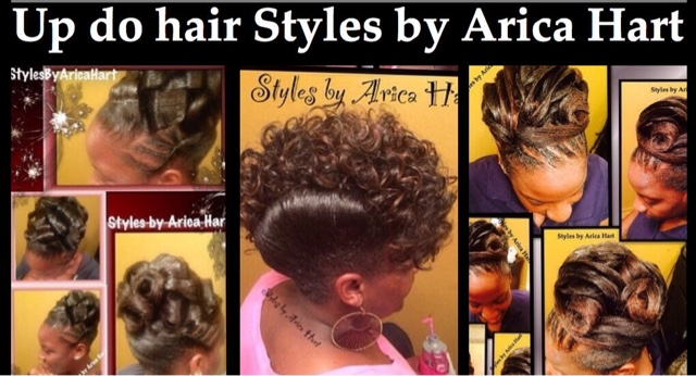 Updo Hair Styles By Arica Hart For The Sophisticated And