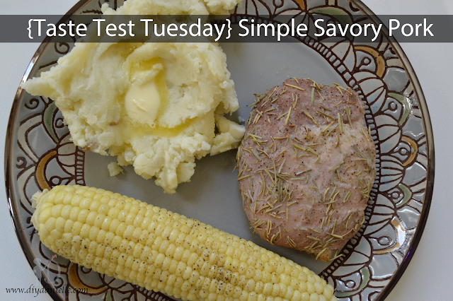 Taste Test Tuesday: Simple Savory Pork Roast