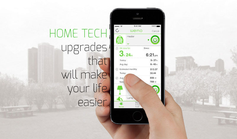 Home Tech Upgrades That Will Make Your Life Easier