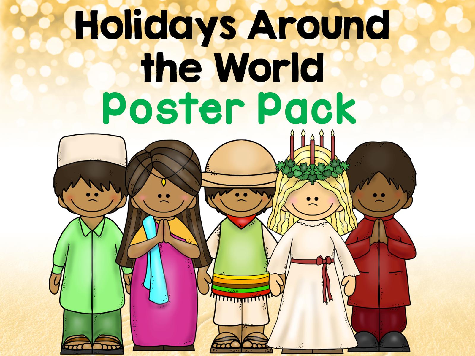 Classroom Freebies Too Holidays Around The World