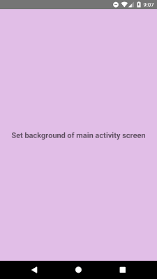 How to change background color of RootView in React Native