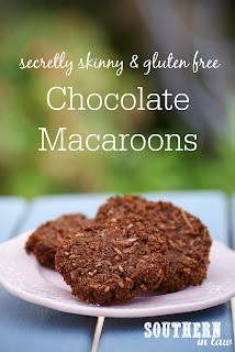 Healthy Chocolate Coconut Macaroons Recipe