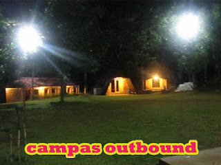 SUASANA MALAM CAMPAS OUTBOUND CAMP